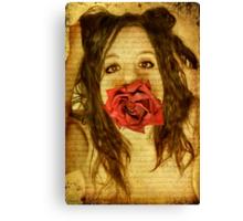 Feral love Canvas Print