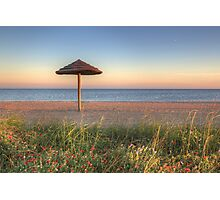 Texas Gulf Coast Images - Rockport Beach Sunset 1 Photographic Print