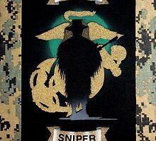 Marine Sniper by AirbrushedArt