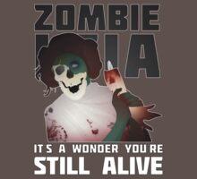 Zombie Leia by krishawkins