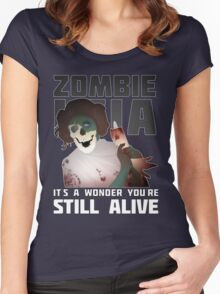 Zombie Leia Women's Fitted Scoop T-Shirt