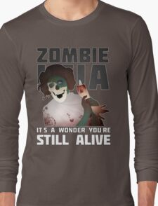 Zombie Leia Long Sleeve T-Shirt