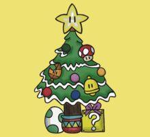 Super Mario - Mushroom Kingdom Christmas One Piece - Short Sleeve