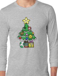 Super Mario - Mushroom Kingdom Christmas Long Sleeve T-Shirt
