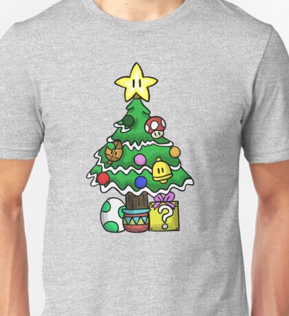 Super Mario - Mushroom Kingdom Christmas Unisex T-Shirt