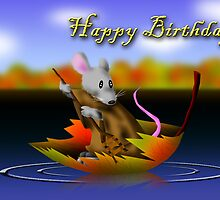 Birthday Mouse by jkartlife