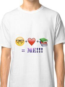 Nerdy Bookworm Classic T-Shirt