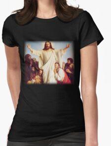 Carl Heinrich Bloch - Consolator Womens Fitted T-Shirt