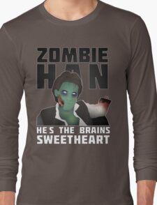 Zombie Han Long Sleeve T-Shirt