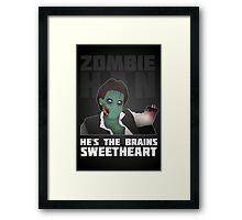 Zombie Han Framed Print