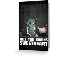 Zombie Han Greeting Card
