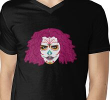 Transylvanian De Los Muertos Mens V-Neck T-Shirt