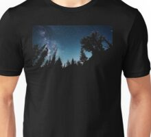Night Sky Forest Unisex T-Shirt