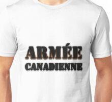 Armée canadienne Unisex T-Shirt