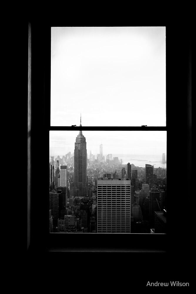 New York Framed by Andrew Wilson