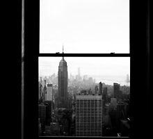New York Framed by Andrew Wilson