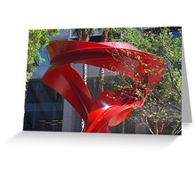 Perth Sculpture Greeting Card