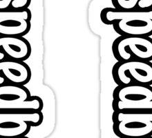 I Hate Speedbumps Sticker