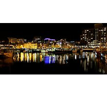 dock by night Photographic Print