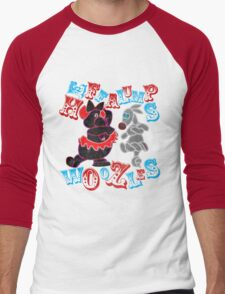 Heffalumps and Woozles Men's Baseball ¾ T-Shirt