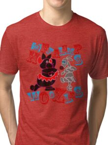 Heffalumps and Woozles Tri-blend T-Shirt