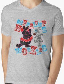 Heffalumps and Woozles Mens V-Neck T-Shirt