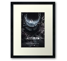 Accursed - Anniversary Poster Framed Print
