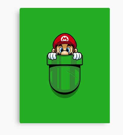 Pocket Plumber Canvas Print