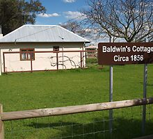 Baldwins Cottage 1856  by kalaryder