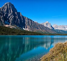 Mistaya Lake 2 by Ian Fegent
