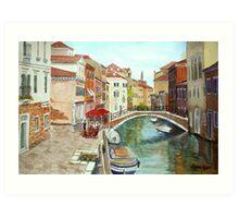 Fondamenta Mori, Venice Art Print