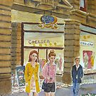 Young women at Block Arcade by Virginia  Coghill