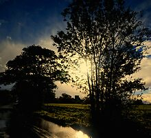 Sunset after Rain by Nigel Bangert