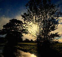 Sunset after Rain by Nigel Bangert
