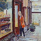 Hopetoun Tea Rooms, Block Arcade, Melbourne 2 by Virginia  Coghill