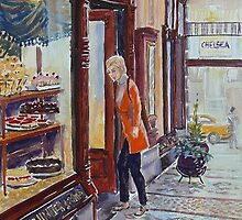 Hopetoun Tea Rooms, Block Arcade, Melbourne 2 by Virginia  Coghill