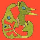 Scribbler doodle 1 by James Lewis Hamilton
