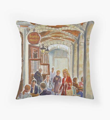 Place des Vosges, Paris Throw Pillow