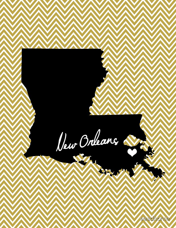 Home Office Decor New Orleans Louisiana Print