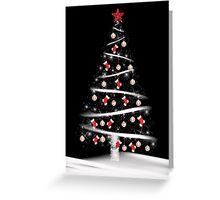 Red Sock Tree Greeting Card