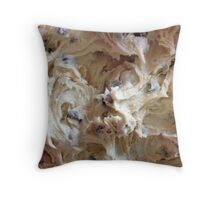 Chocolate Chip Cookie Dough Throw Pillow
