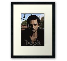 Hook- Once Upon A Time Framed Print