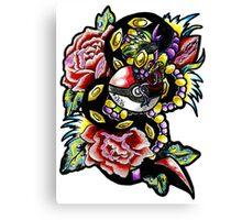 Seviper-pokemon tattoo collaboration Canvas Print
