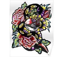 Seviper-pokemon tattoo collaboration Poster