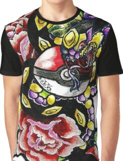Seviper-pokemon tattoo collaboration Graphic T-Shirt