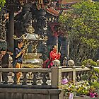 Worshippers at the Temple by TonyCrehan
