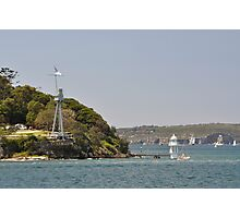 HMAS Sydney Monument & Tall Ships Departure 2013 Photographic Print