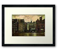 Painted Amsterdam Framed Print