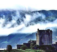 Eilean Donan in the Highlands by hans p olsen