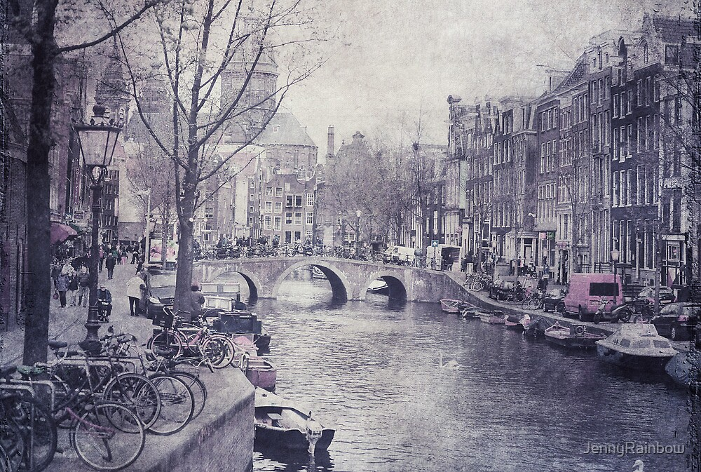Vintage Amsterdam by JennyRainbow